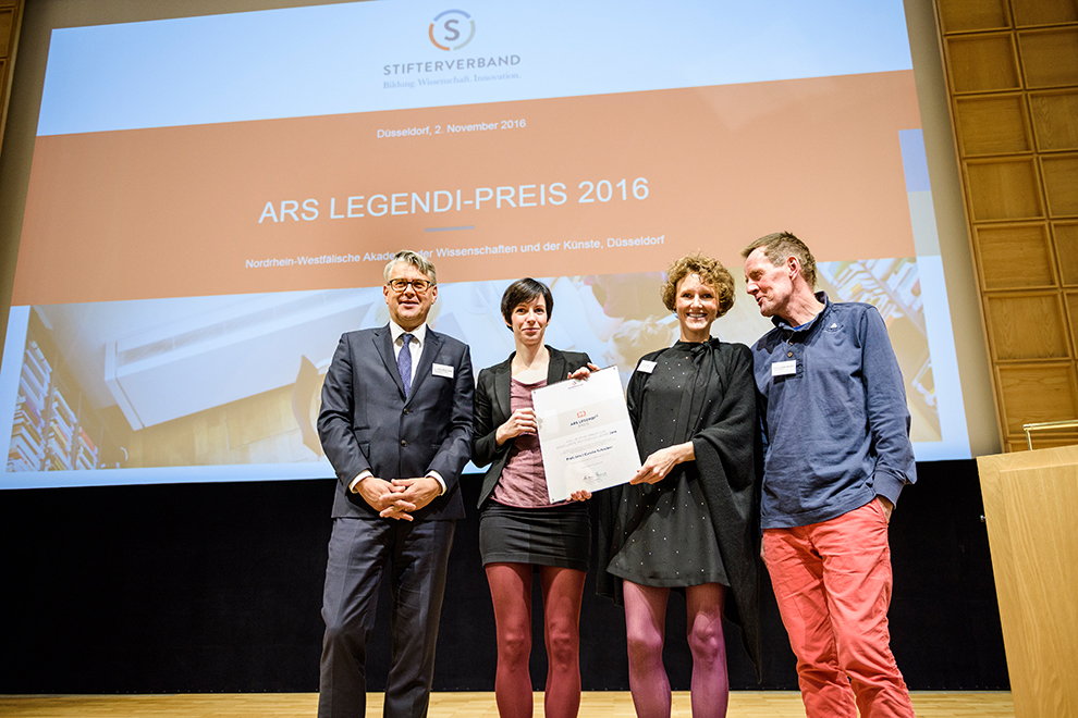 Preisverleihung des Ars Legendi Preises 2016